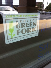 Project Green Fork Restaurant Certification